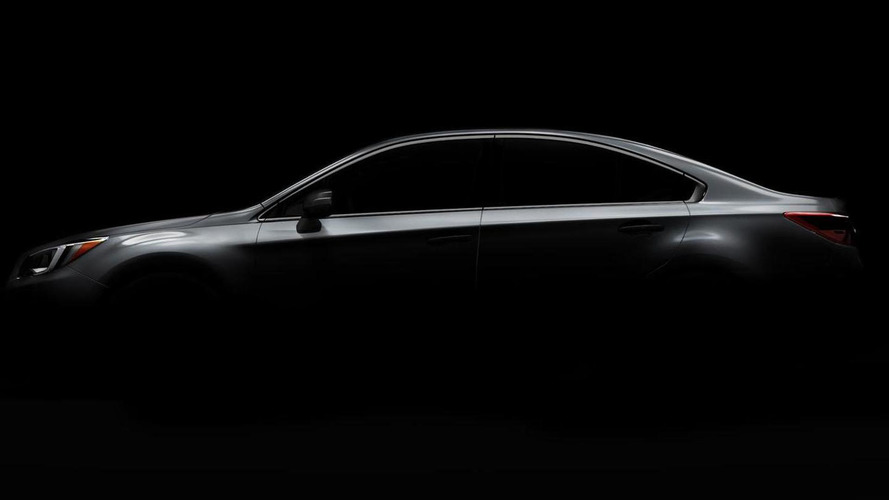 2015 Subaru Legacy teased, promises to have a more coupe-like profile