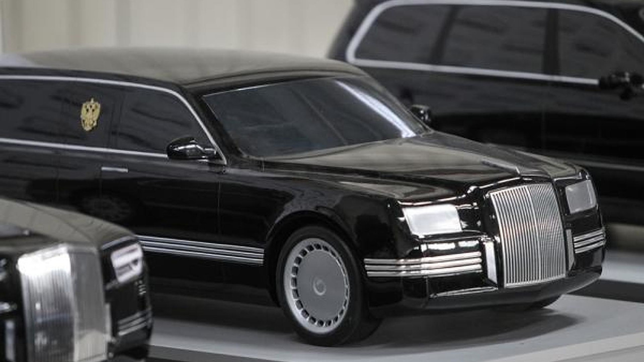Russian Presidential limo