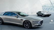Aston Martin Lagonda rendering