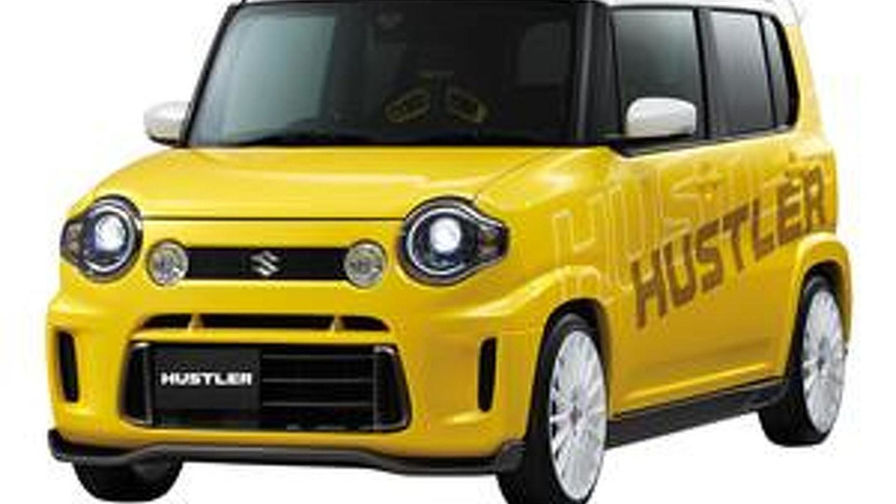 Suzuki Hustler customize concept