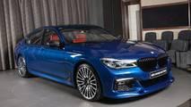 BMW 750Li in Avus Blue