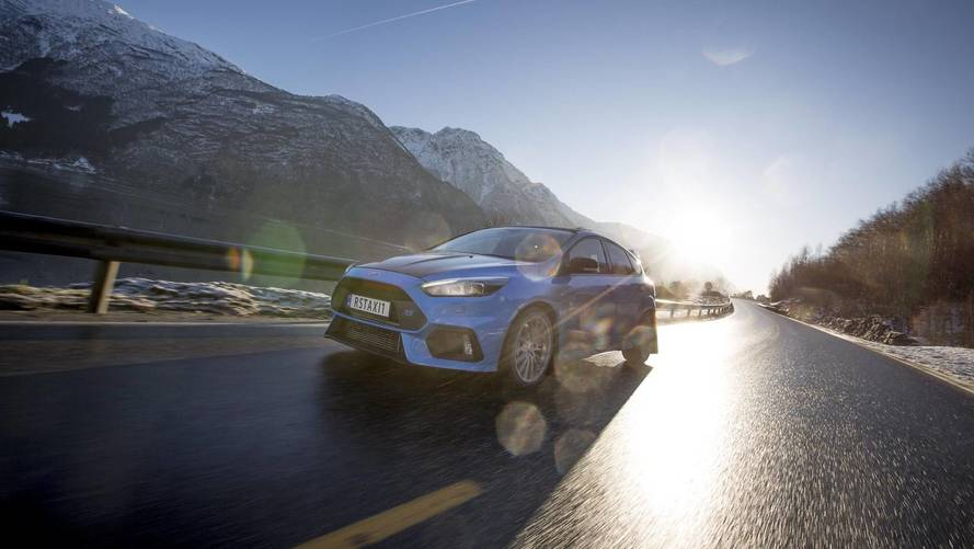 Ford Focus RS Norwegian taxi