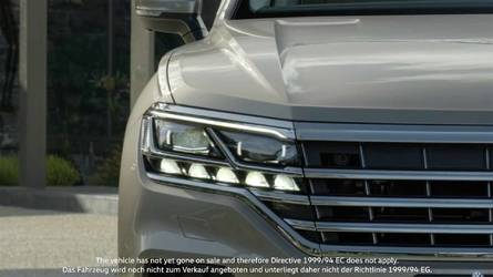 2019 VW Touareg Returns In Most Revealing Teaser To Date