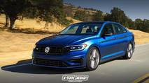 2019 VW Jetta GLI / R tasarım yorumu