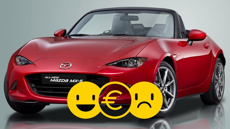 Promozione Mazda MX-5, perché conviene e perché no
