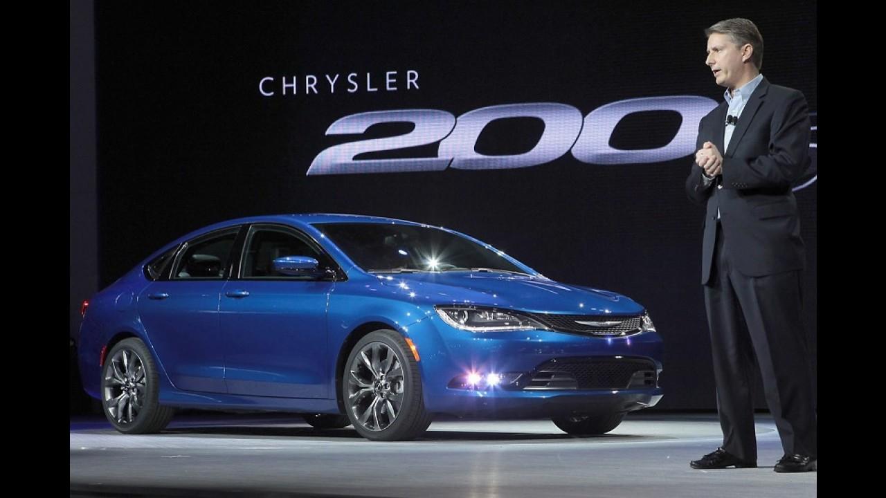 Vídeo: Chrysler mostra detalhes da produção do novo sedã 200