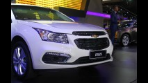Salão SP: Chevrolet Cruze 2015 ganha novo visual