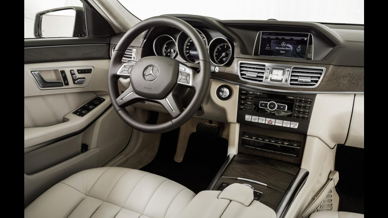 Mercedes equipa E 350 BlueTec com novo câmbio de nove marchas