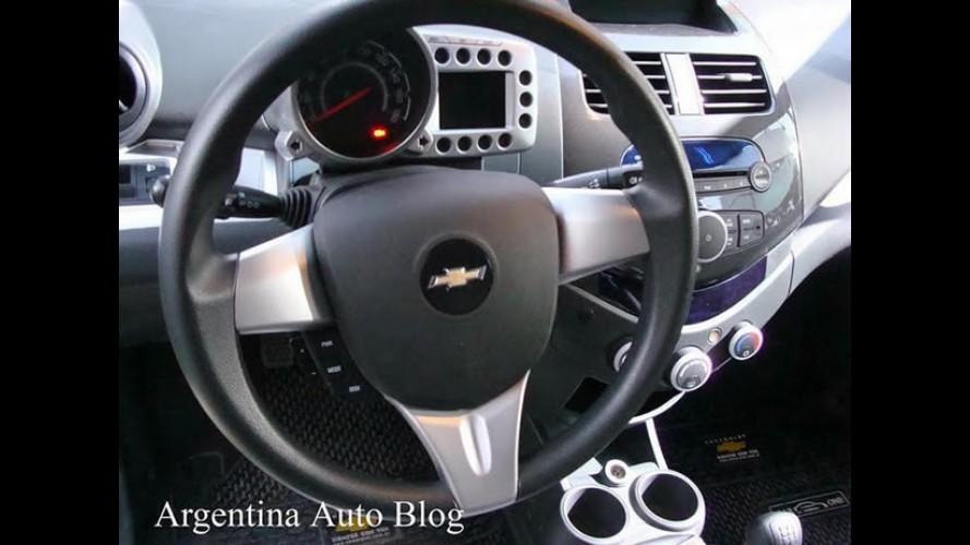 Novo Celta 2012: Chevrolet Spark já é mostrado na Argentina
