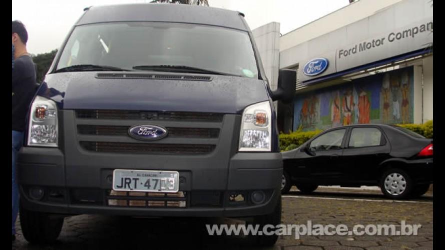 Ford Transit: Trabalho diário com segurança e conforto