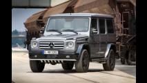 O fim está próximo: Mercedes lança na Itália edições especiais para a Classe G
