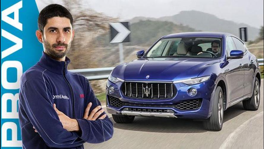 Maserati Levante, eppur si guida [VIDEO]