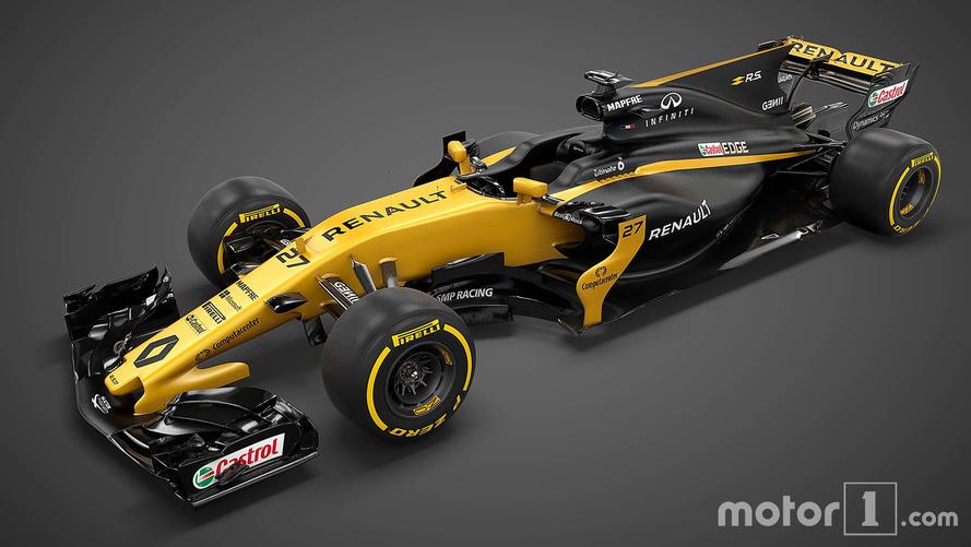 Renault presenta su monoplaza de F1 para 2017