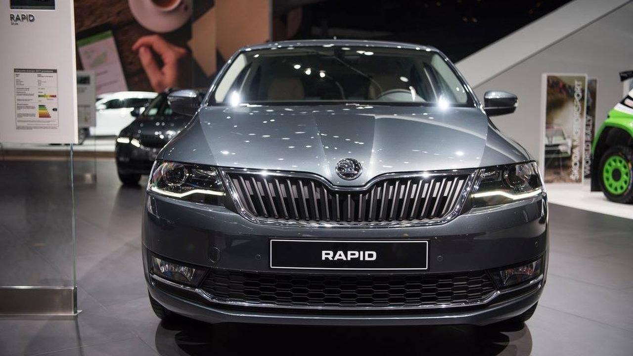 2017 Skoda Rapid brings sophisticated facelift to Geneva