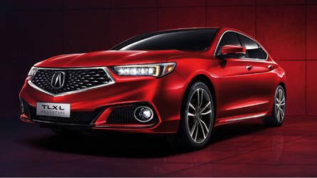 Acura TLX-L Proves Size Matters By Getting Longer Wheelbase