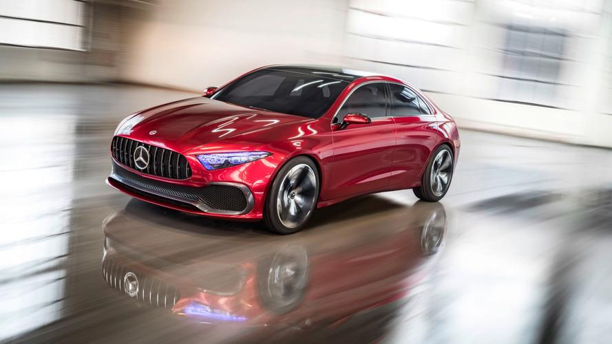 Mercedes Concept A Sedan, Şanghay'a çekiciliğiyle geldi