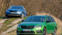 2017 Skoda Octavia RS and Scout facelift