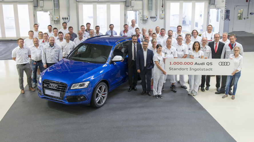 Audi SQ5 bir milyonuncu Q5 modeli oldu