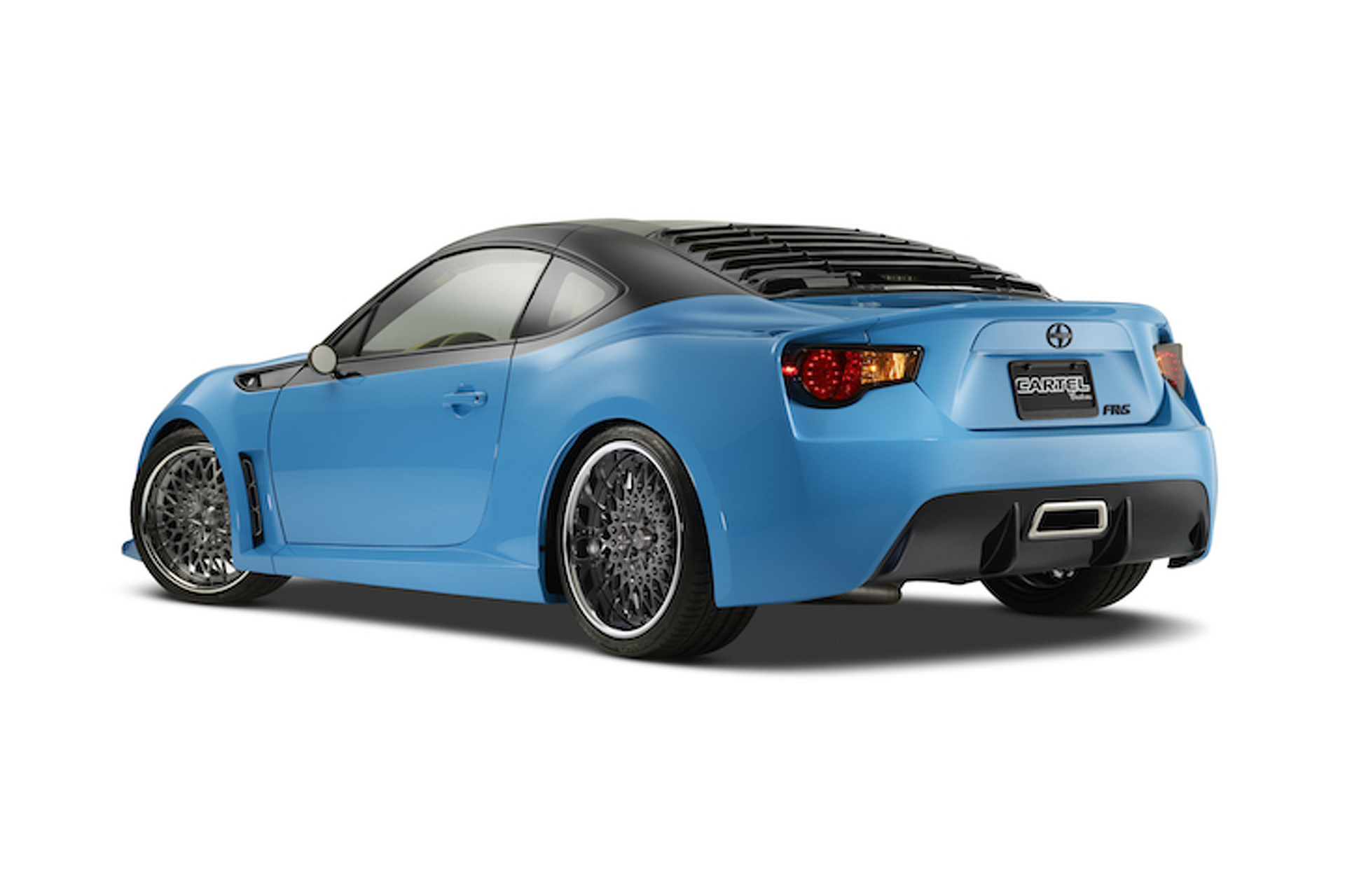 Scion Made an FR-S Targa Turbo That's Almost Perfect
