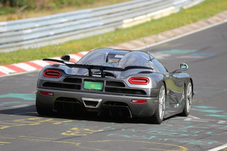What is Koenigsegg Testing on the Nurburgring?