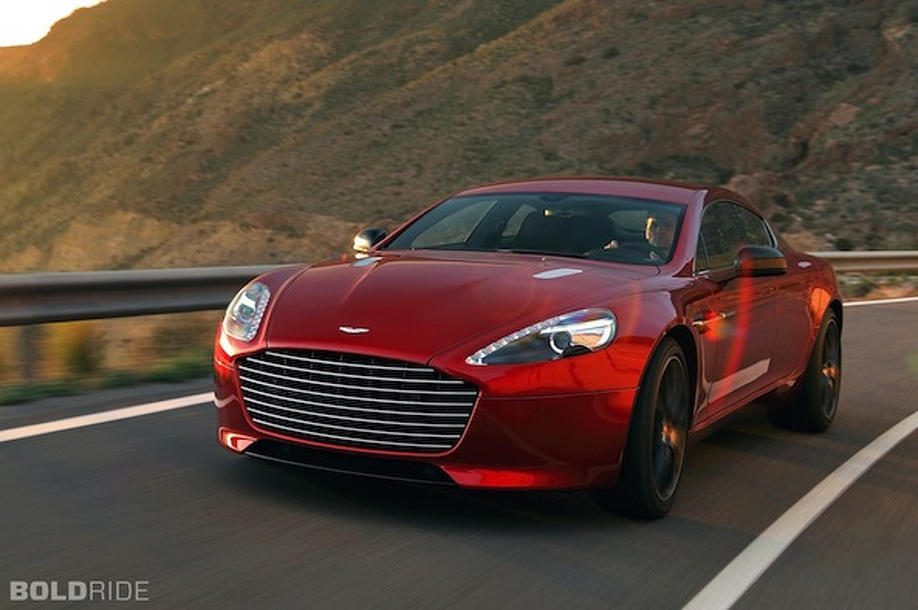 Bold Ride of the Week: 2013 Aston Martin Rapide S
