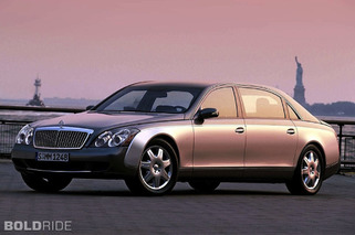 Daimler Eyes Return for Maybach Ultra-Luxury Brand