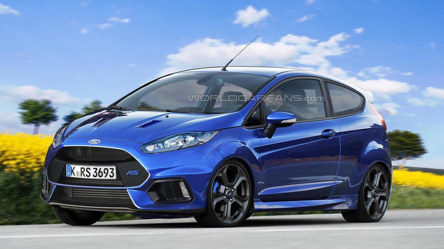 Ford Fiesta RS rendered, could actually happen