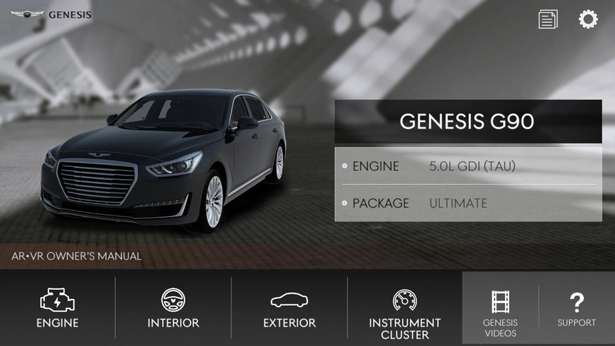 Genesis Augmented Reality App Teaches You How To Use Your Car