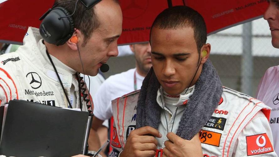 McLaren promotes Hamilton's race engineer