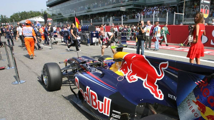 Red Bull initially failed new floor tests