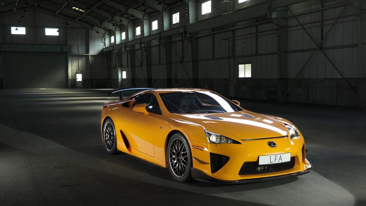 Lexus LFA with Nürburgring Package 23.02.2011