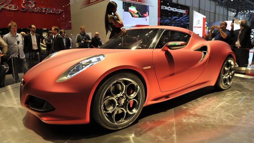 Alfa Romeo 4C to reach stateside late this year, says Marchionne