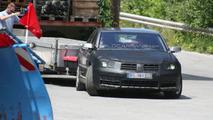 Volkswagen Phaeton Facelifted Facelift Spied Testing