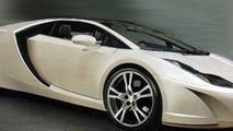 2007 artist rendering of new 2011 Lotus Esprit