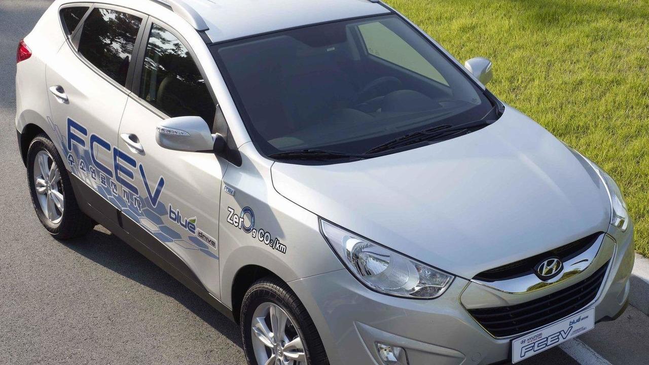 Hyundai Tucson ix Hydrogen Fuel-Cell EV 22.12.2010