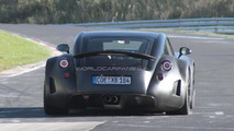 Wiesmann GT testing Nurburgring 13.10.2010