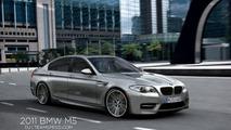 BMW M5 F10 artist rendering