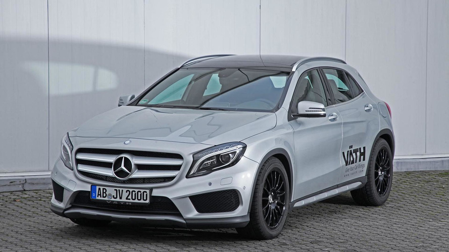 Mercedes-Benz GLA 200 upgraded to 184 HP by VATH