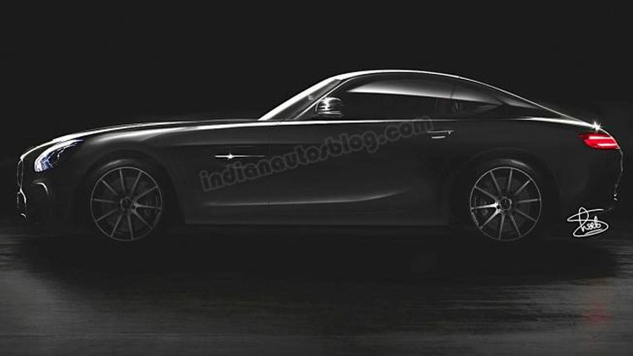 Mercedes-AMG GT rendered based on official teaser