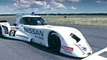 Nissan ZEOD RC tackles the Top Gear test track