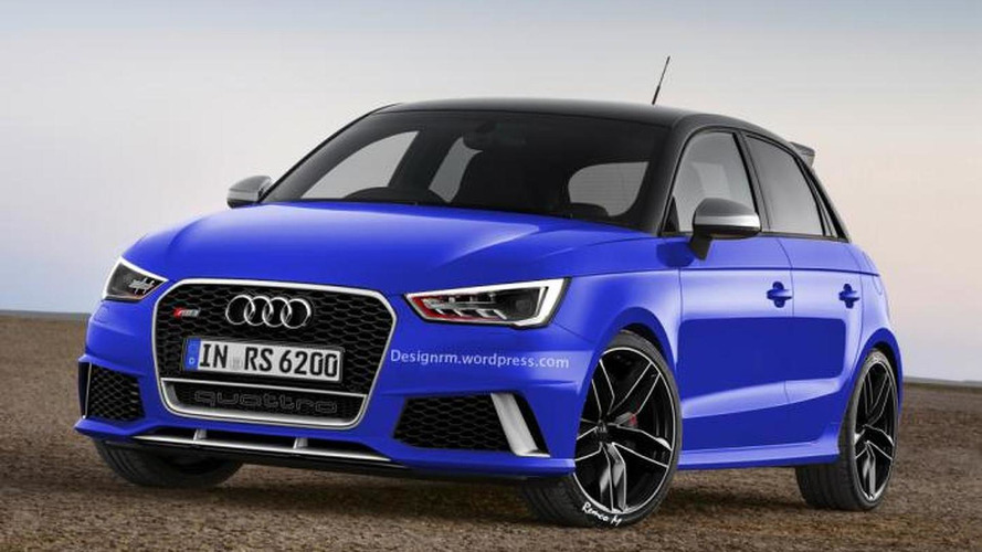 Audi RS1 Sportback digitally imagined
