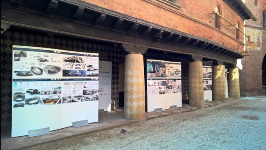 Parco Valentino, l'auto del futuro è esposta al Borgo Medievale di Torino