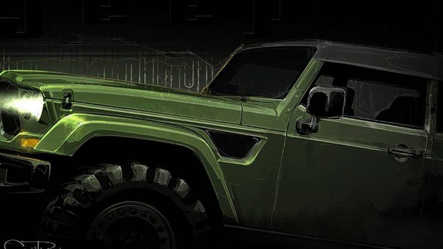 2016 Jeep Crew Chief 715 konsepti