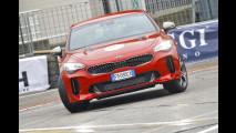 Sull'Area 48 del Motor Show con la Kia Stinger