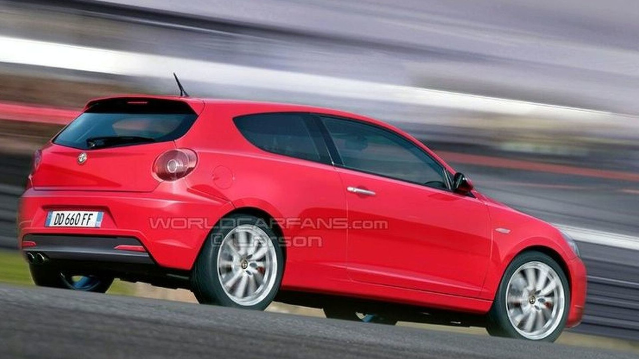 Artist rendering of the Alfa Romeo 149 Junior