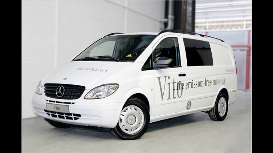 Mercedes erprobt Elektro-Vito in Stuttgart