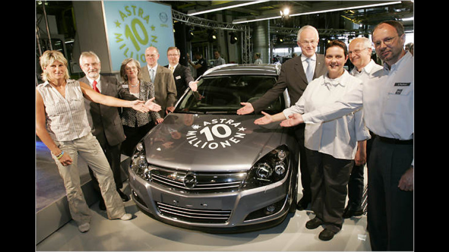 Rundes Jubiläum: Opel feiert zehn Millionen Astra