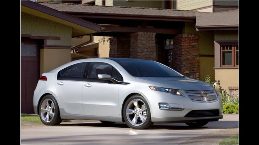 Chevrolet Volt: US-Preis liegt bei 41.000 Dollar