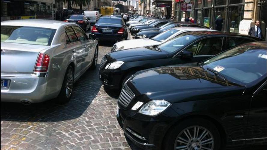 Auto blu e spending review: in sei mesi sono state ridotte di un quinto