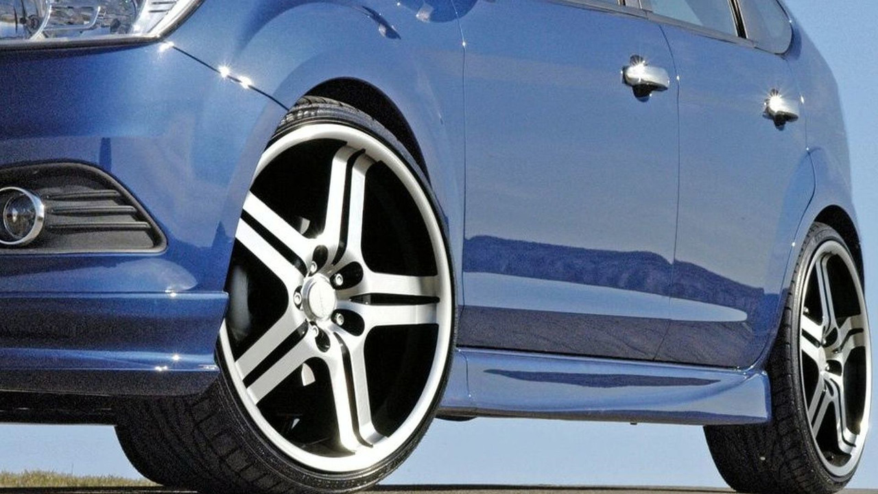 Alloy Wheels Painting >> Ford Focus Facelift According to Loder1899